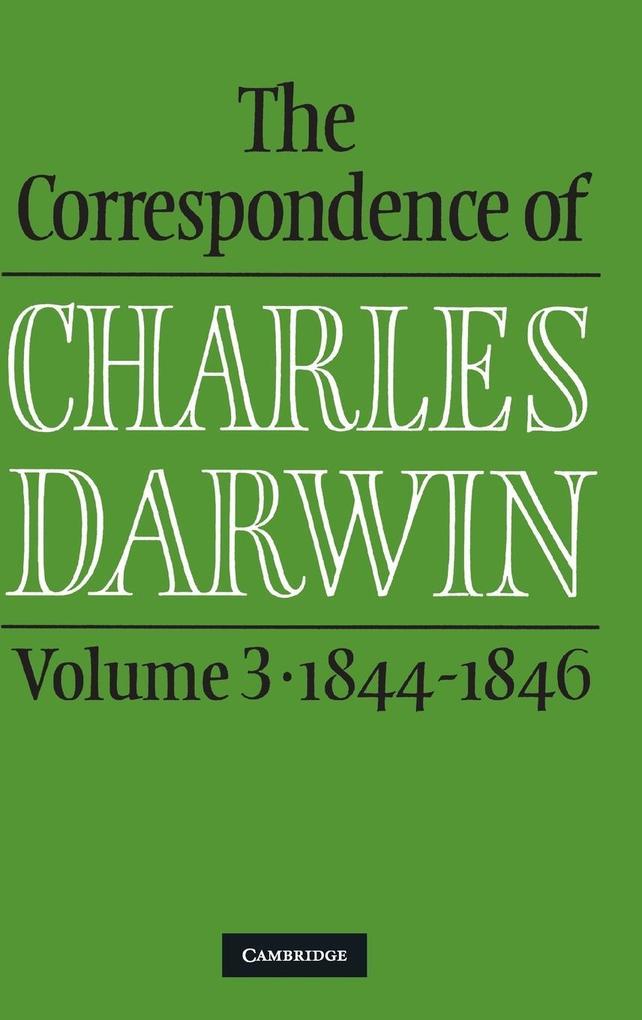 The Correspondence of Charles Darwin als Buch (gebunden)