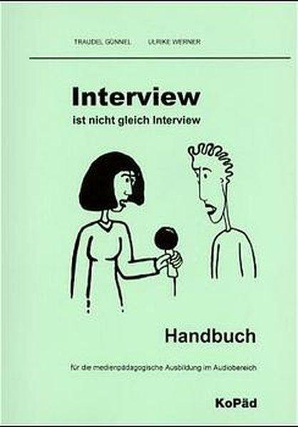 Interview ist nicht Interview. Inkl. CD als Buch (gebunden)
