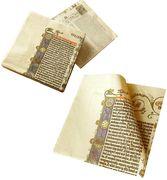 Metermorphosen - Die Gutenberg Serviette - Die erste Bibelseite bei Tisch