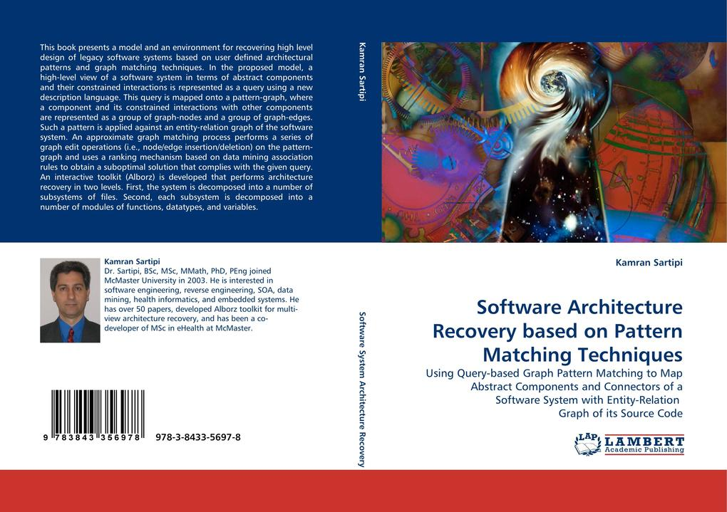 Software Architecture Recovery based on Pattern Matching Techniques als Buch (gebunden)