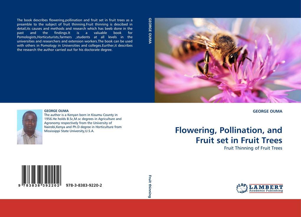 Flowering, Pollination, and Fruit set in Fruit Trees als Buch (kartoniert)