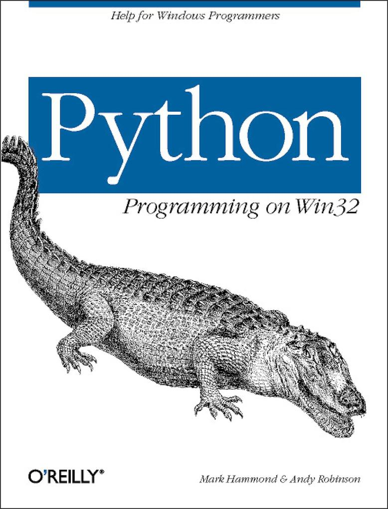 Python Programming on Win32 als Buch (kartoniert)
