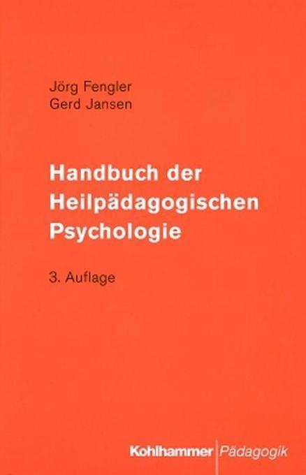 Handbuch der Heilpädagogischen Psychologie als Buch (kartoniert)