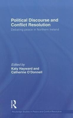 Political Discourse and Conflict Resolution als Buch (gebunden)