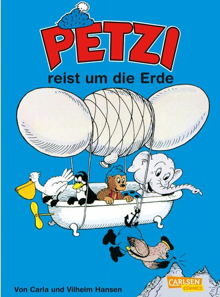 Petzi reist um die Erde als Buch (kartoniert)