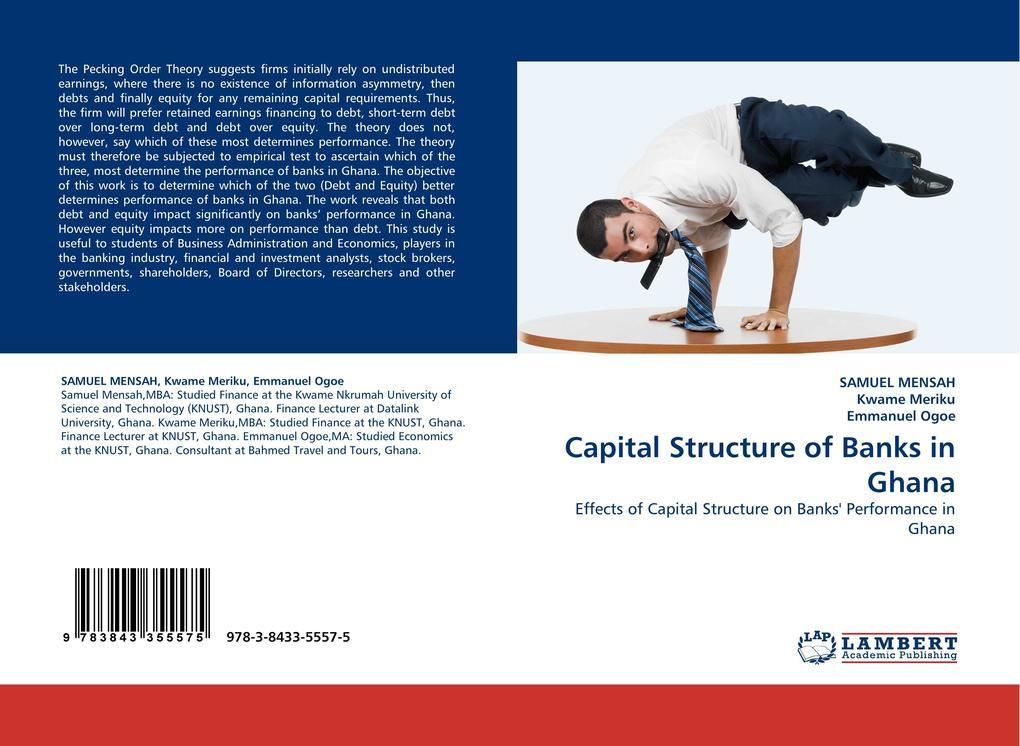 Capital Structure of Banks in Ghana als Buch (gebunden)