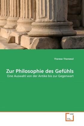 Zur Philosophie des Gefühls als Buch (gebunden)