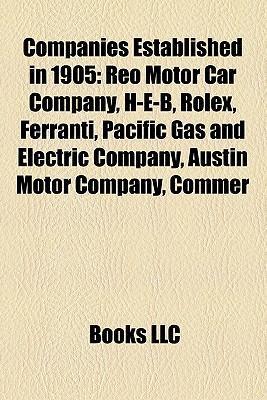 Companies established in 1905 als Taschenbuch