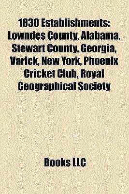 1830 establishments als Taschenbuch