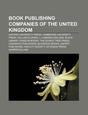 Book publishing companies of the United Kingdom als Taschenbuch