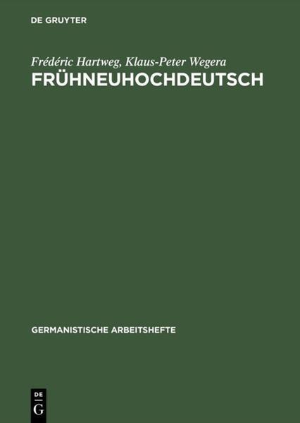 Frühneuhochdeutsch als Buch (gebunden)