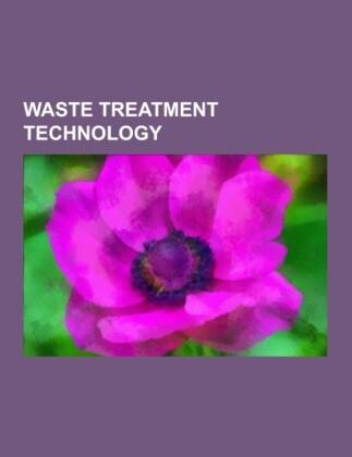 Waste treatment technology als Taschenbuch
