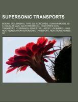 Supersonic transports als Taschenbuch