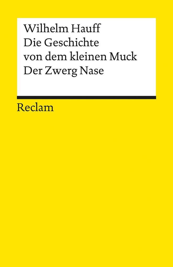Die Geschichte vom kleinen Muck / Zwerg Nase als Taschenbuch