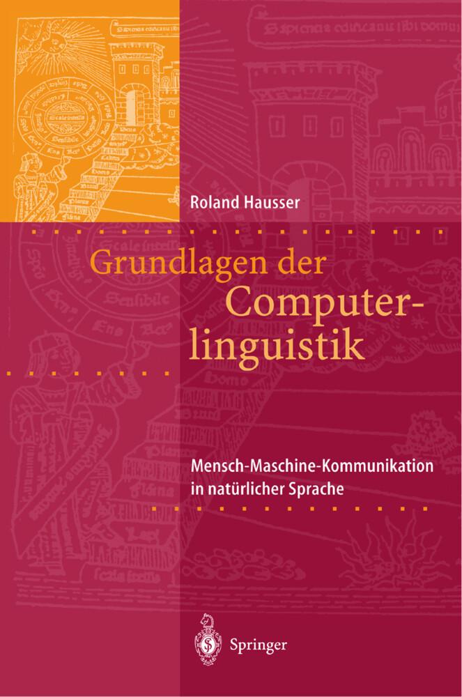 Grundlagen der Computerlinguistik als Buch (kartoniert)