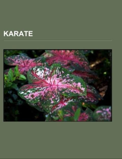 Karate als Taschenbuch