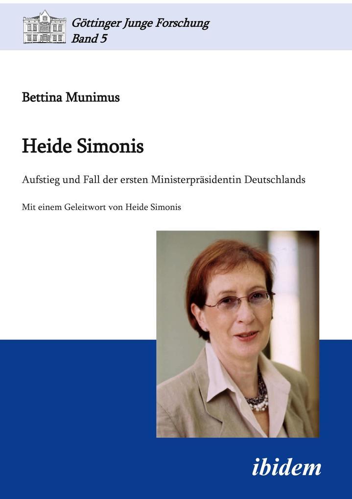 Heide Simonis als Buch (kartoniert)