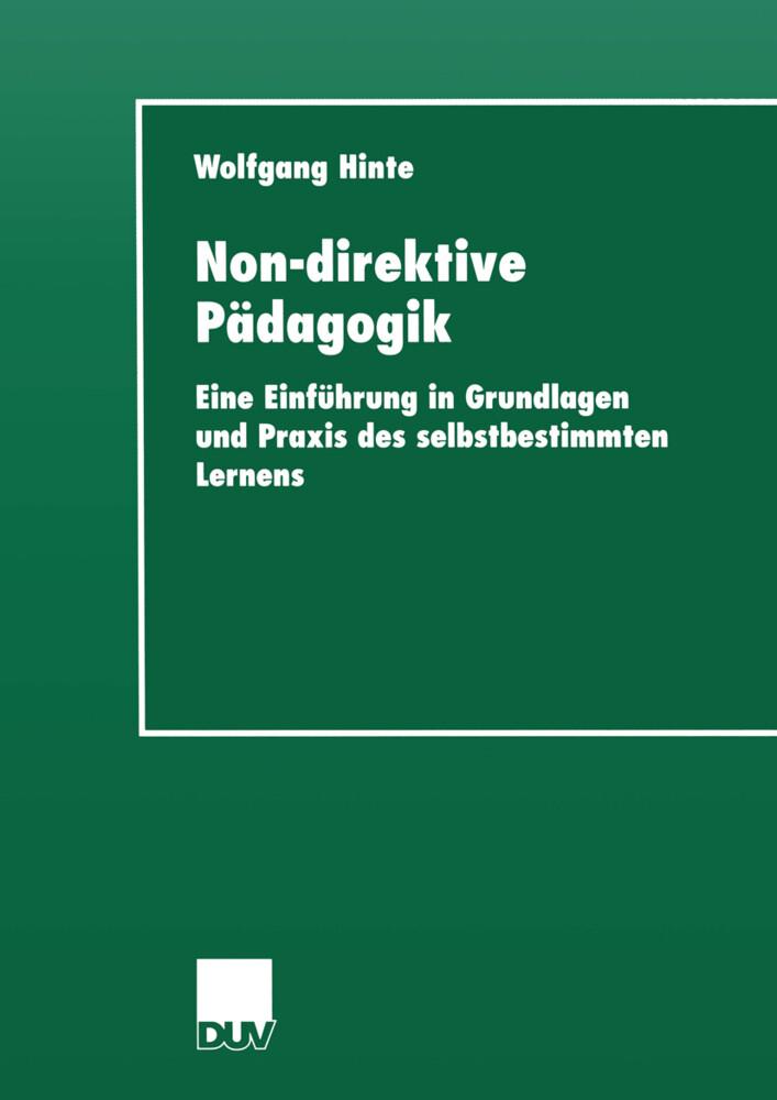Non-direktive Pädagogik als Buch