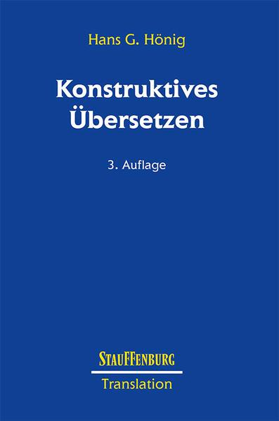 Konstruktives Übersetzen als Buch