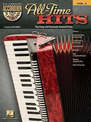 All-Time Hits: Hal Leonard Accordion Play-Along, Vol. 2 [With CD (Audio)] als Taschenbuch
