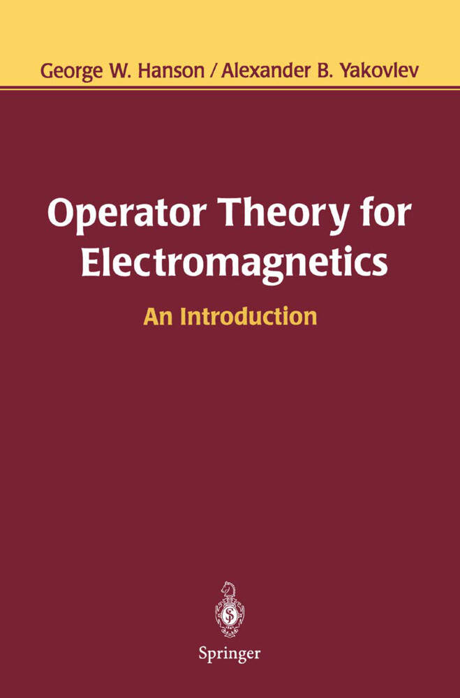 Operator Theory for Electromagnetics als Buch (kartoniert)