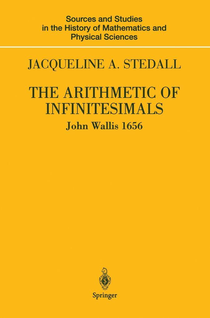 The Arithmetic of Infinitesimals als Buch (kartoniert)