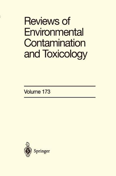Reviews of Environmental Contamination and Toxicology 173 als Buch (kartoniert)