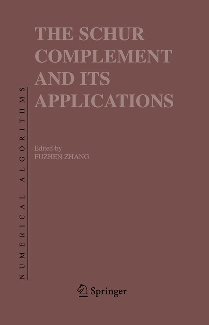 The Schur Complement and Its Applications als Buch (kartoniert)