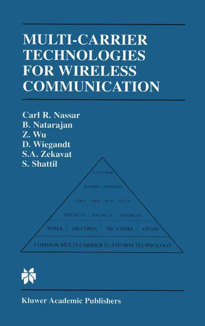 Multi-Carrier Technologies for Wireless Communication als Buch (kartoniert)