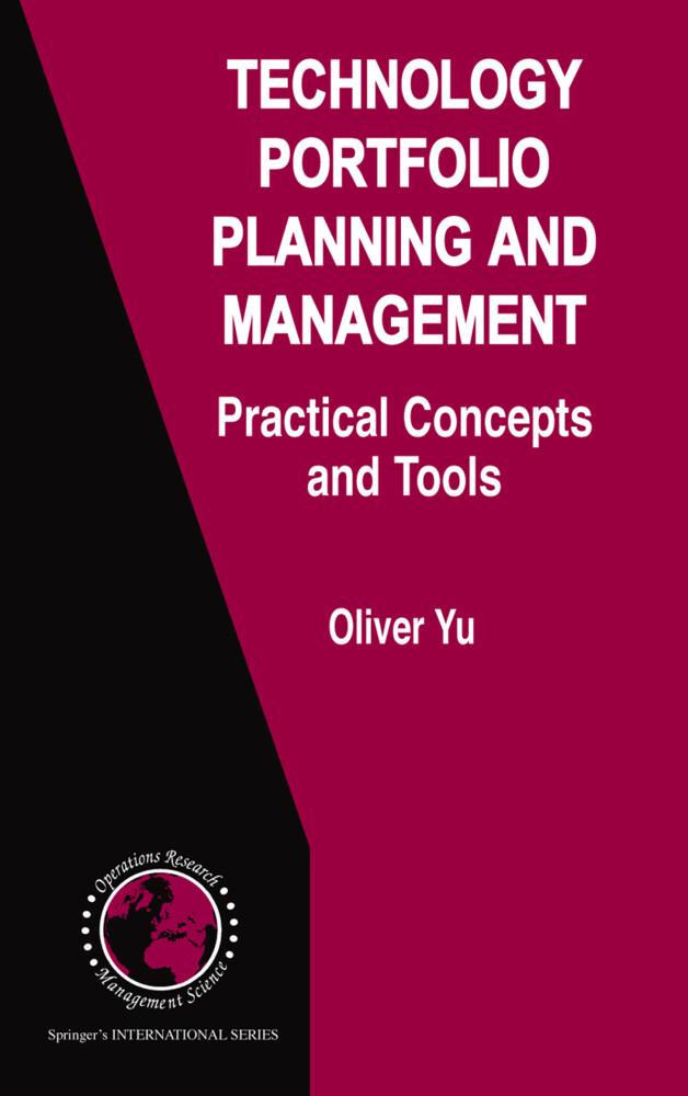 Technology Portfolio Planning and Management als Buch (kartoniert)