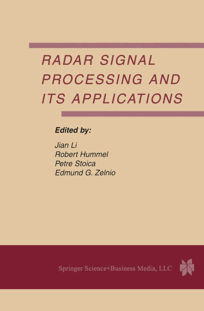 Radar Signal Processing and Its Applications als Buch (kartoniert)