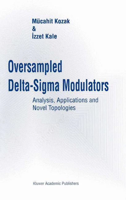 Oversampled Delta-Sigma Modulators als Buch (kartoniert)
