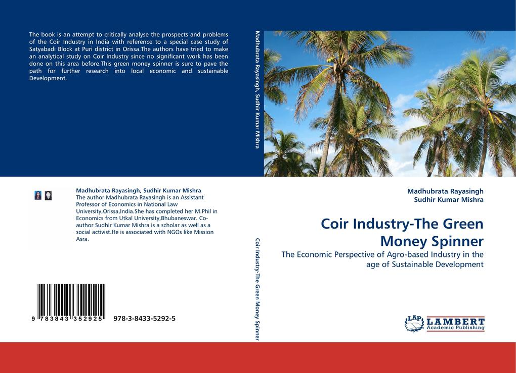 Coir Industry-The Green Money Spinner als Buch (gebunden)