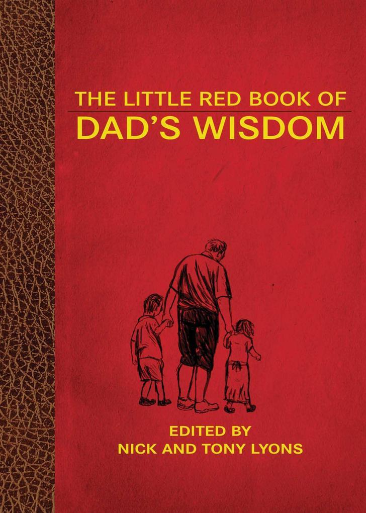 The Little Red Book of Dad's Wisdom als Buch (gebunden)