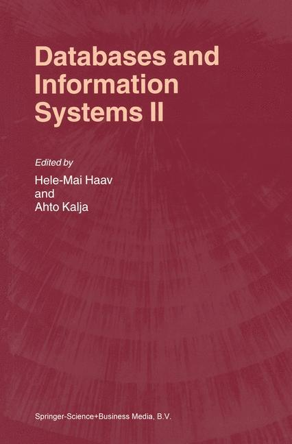 Databases and Information Systems II als Buch (kartoniert)