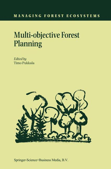 Multi-objective Forest Planning als Buch (kartoniert)