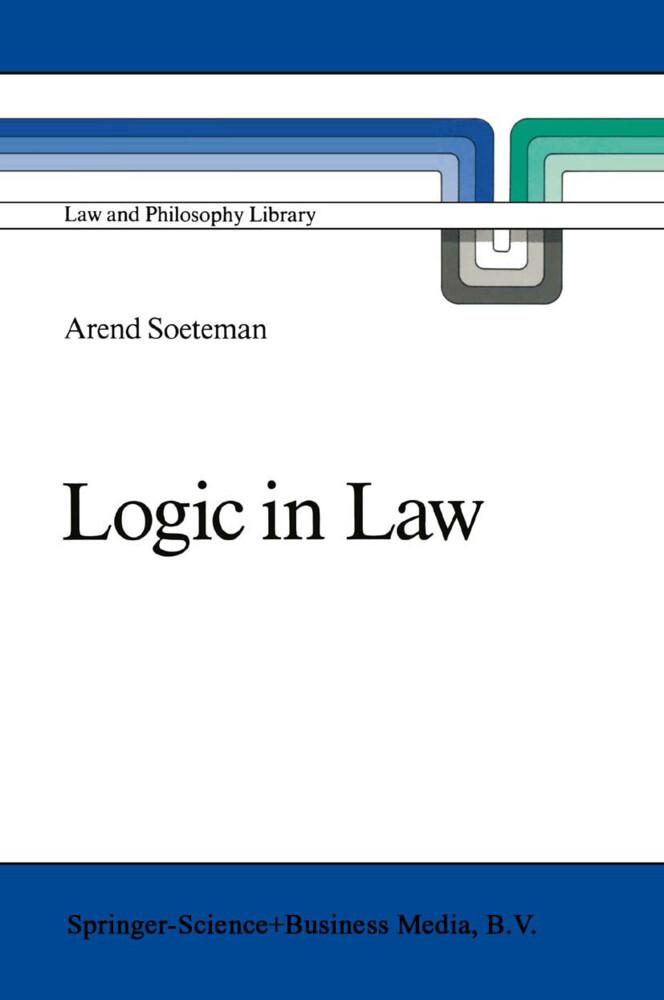 Logic in Law als Buch (gebunden)