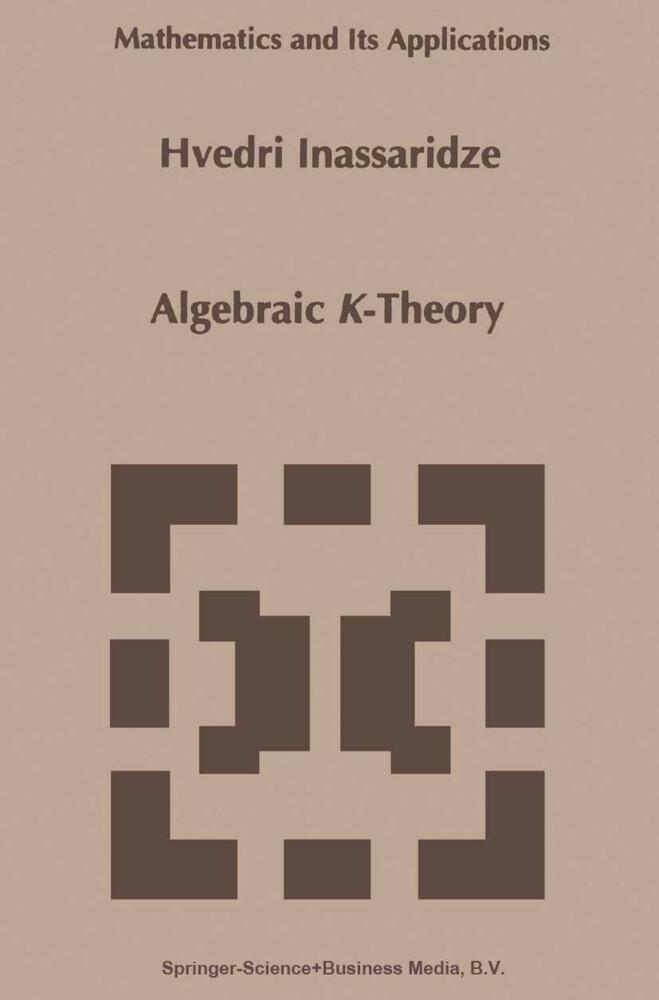 Algebraic K-Theory als Buch (kartoniert)