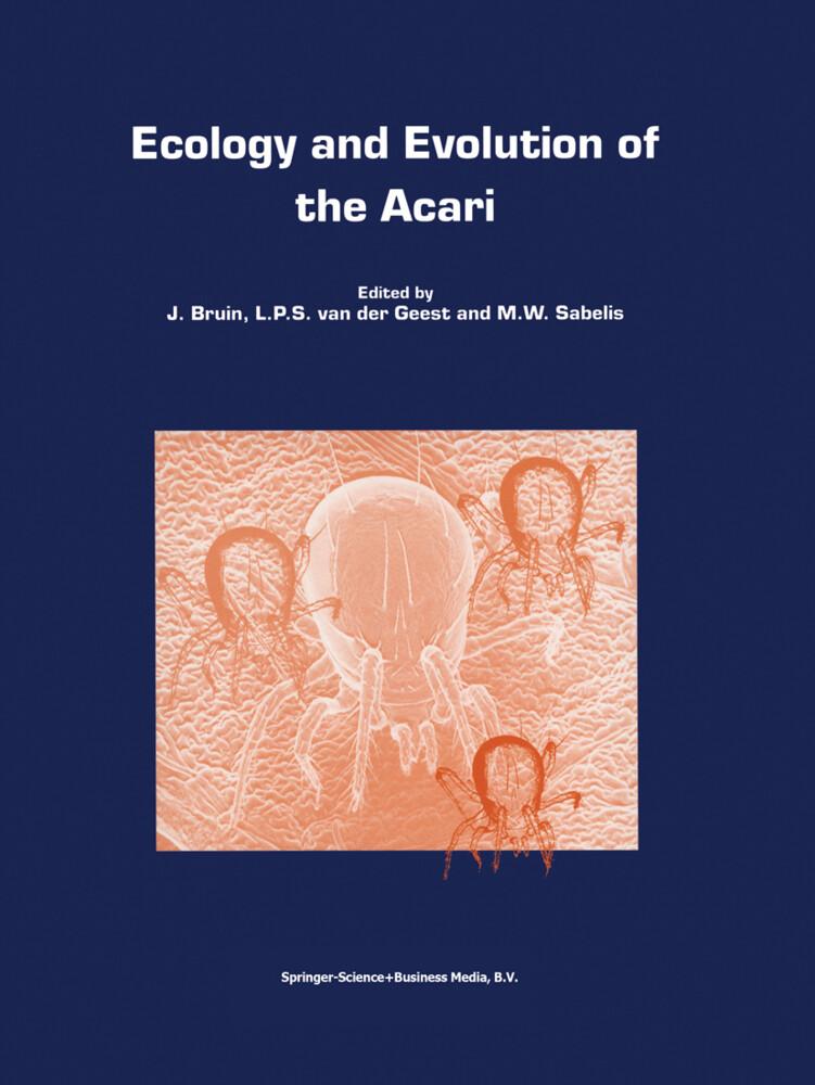Ecology and Evolution of the Acari als Buch (gebunden)