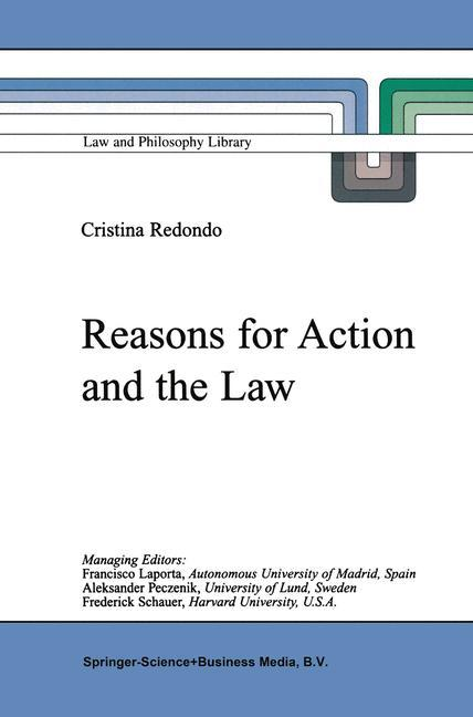 Reasons for Action and the Law als Buch (kartoniert)