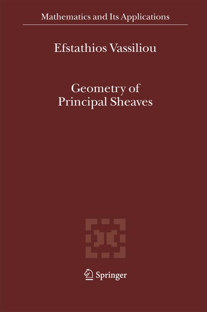 Geometry of Principal Sheaves als Buch (kartoniert)
