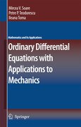 Ordinary Differential Equations with Applications to Mechanics