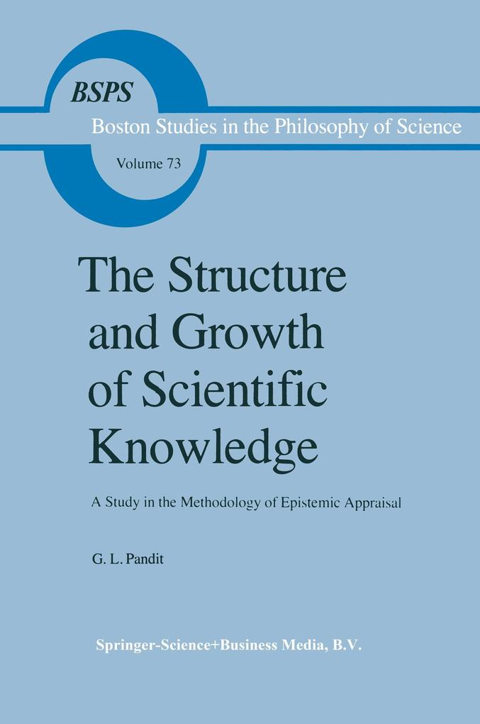 The Structure and Growth of Scientific Knowledge als Buch (kartoniert)
