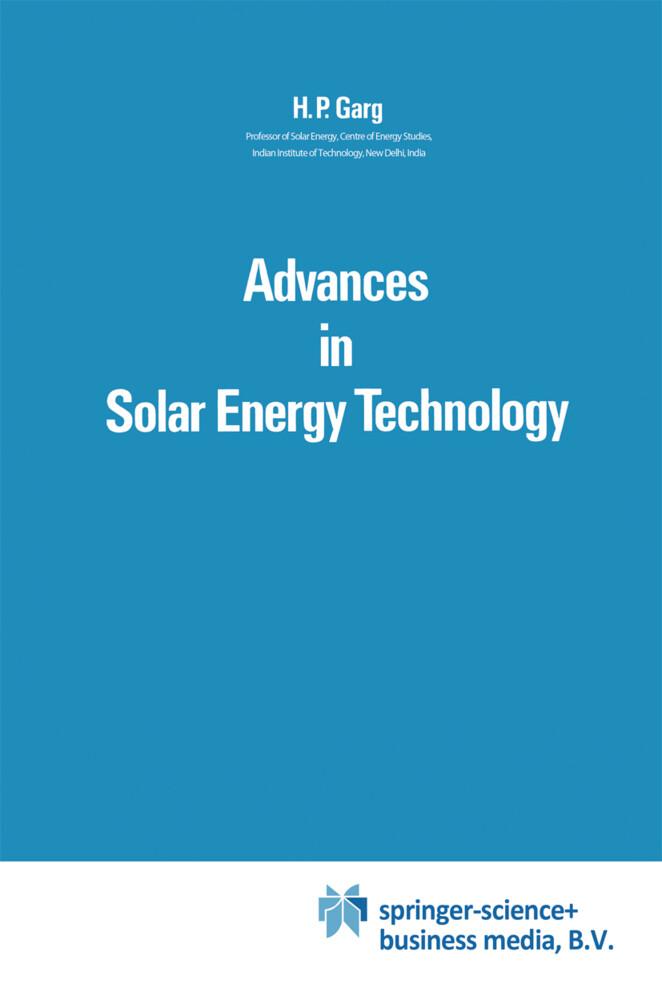 Advances in Solar Energy Technology als Buch (gebunden)