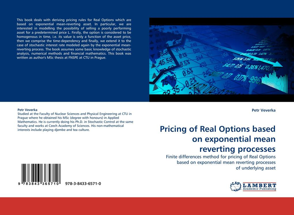 Pricing of Real Options based on exponential mean reverting processes als Buch (gebunden)