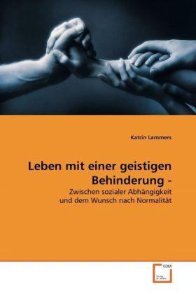 Leben mit einer geistigen Behinderung - als Buch (gebunden)