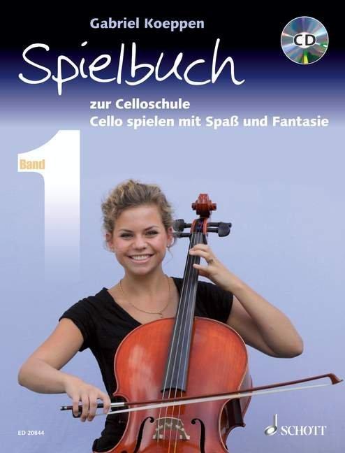 Celloschule Spielbuch 1 mit CD als Buch (kartoniert)