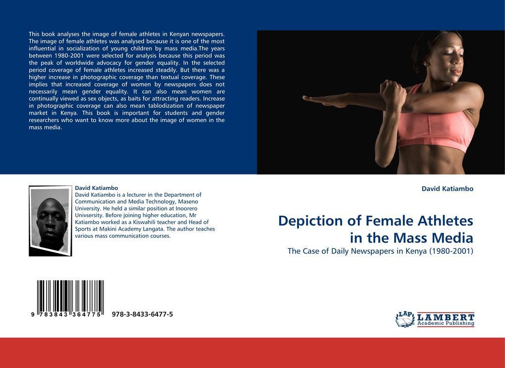 Depiction of Female Athletes in the Mass Media als Buch (gebunden)