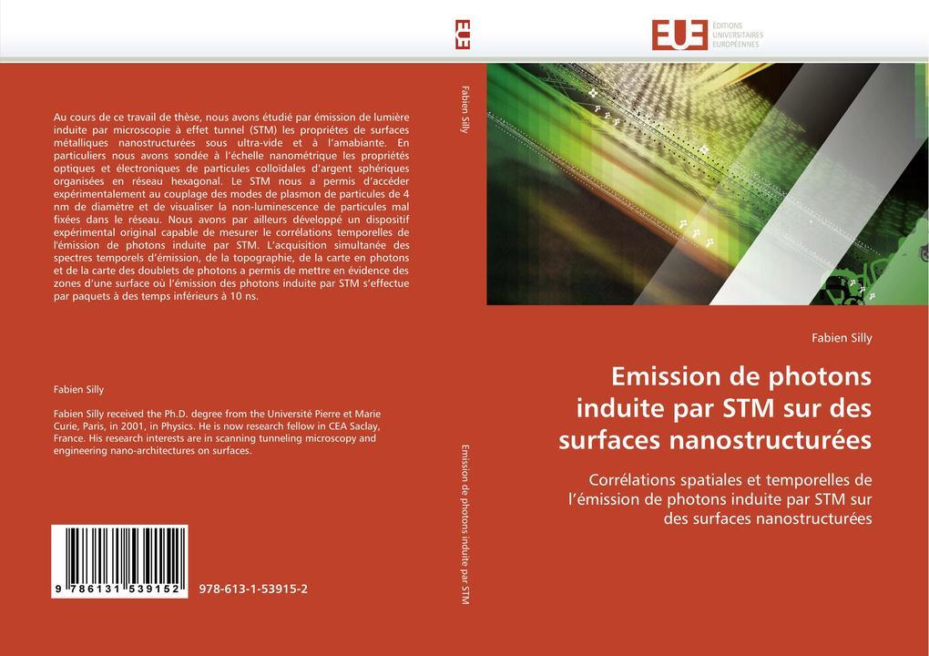 Emission de photons induite par STM sur des surfaces nanostructurées als Buch (gebunden)
