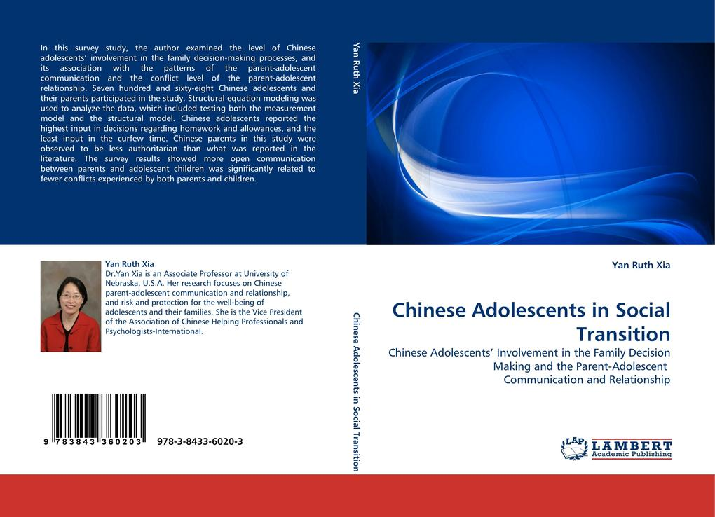 Chinese Adolescents in Social Transition als Buch (gebunden)